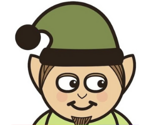 cartoon elf