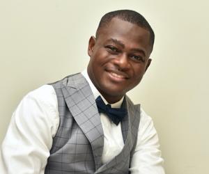 Kwabena smiling